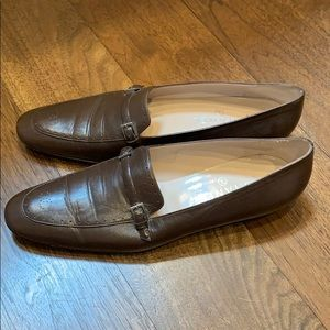 Women's Brown Chanel driving loafers  -41